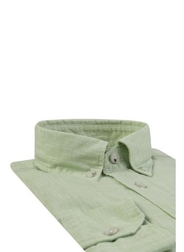 Damat Gömlek Yeşil